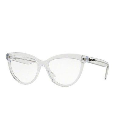 6bc016ae1cd Another great find on  zulily! Translucent Cat-Eye Eyeglasses ...
