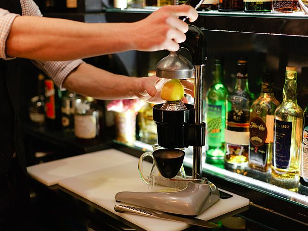 NEW YORK OBSERVER u2013 LIVING THERE MAGAZINE Feature on Theo - bartender skills