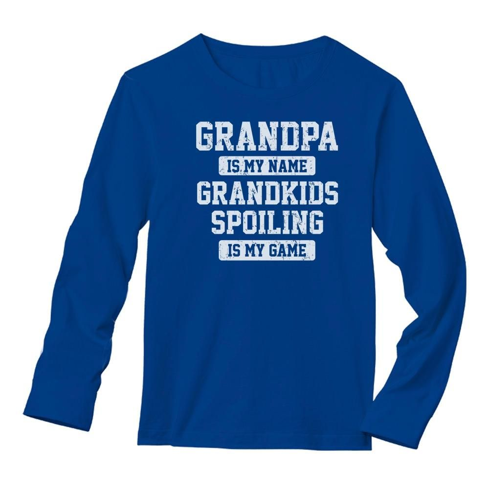 Brother is My Name Spoiling is My Game Tee Shirt Long Sleeve Shirt