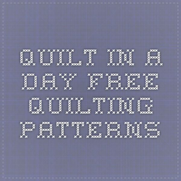 Quilt in a Day - Free Quilting Patterns - Eleanor Burns Block ... : quilt in a day patterns free - Adamdwight.com