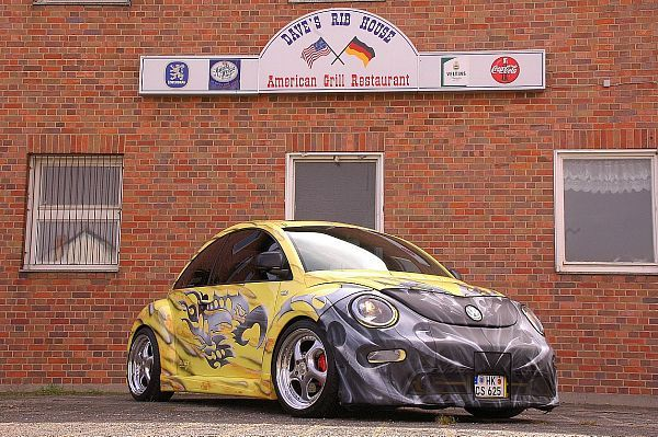 Modified Vw New Beetle 1 8t 2000 Vw New Beetle New Beetle Volkswagen