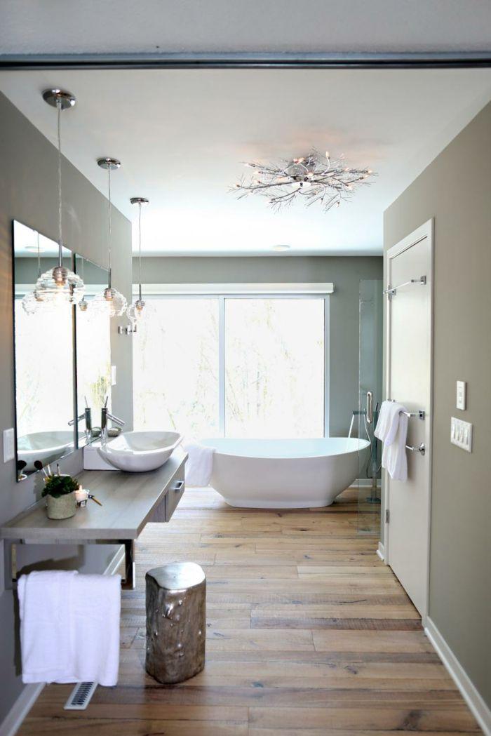 bodenbelag design badezimmer leuchter pendelleuchten | raumnutzung ... - Kronleuchter Für Badezimmer
