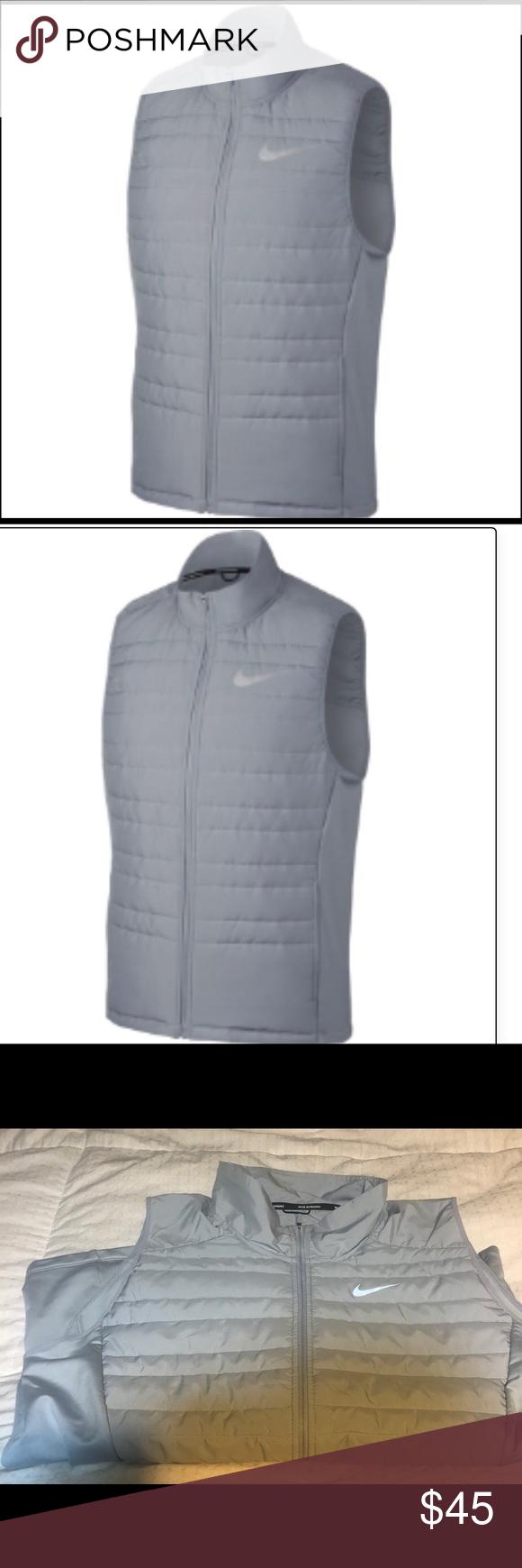 94509061f Men's Nike Essential Running Vest- looks new Men's Nike Essential ...