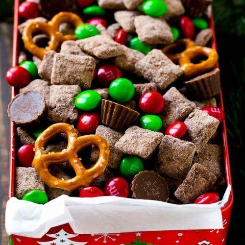 Christmas Trash Recipe, Reindeer Chow