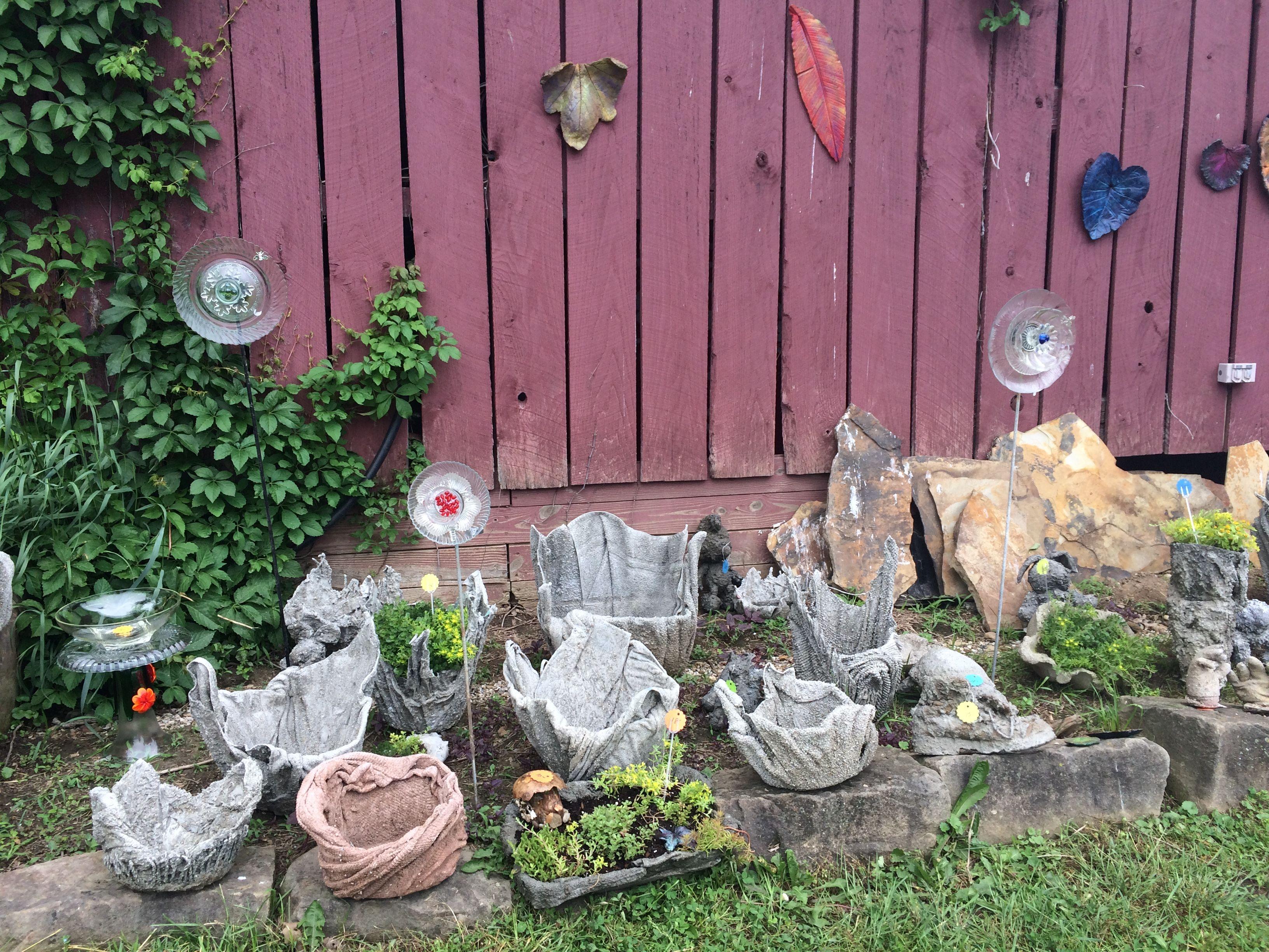 Assorted hyper tufas my concert garden art in pinterest