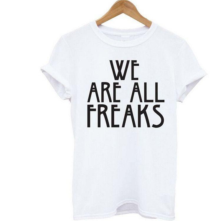 25833c4d93f WE ARE ALL FREAKS Tees | Products | Tops, Women, T shirts for women