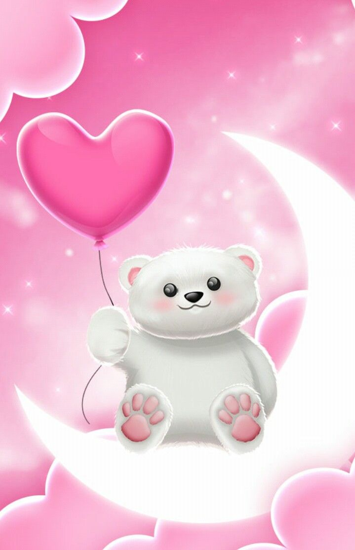 Wallpaper By Artist Unknown Cute Love Wallpapers Teddy