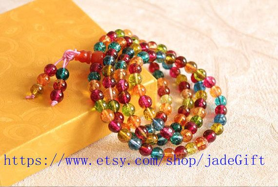 Free Shipping Tibetan Buddhism Handcrafted Natural by jadeGift, $36.99