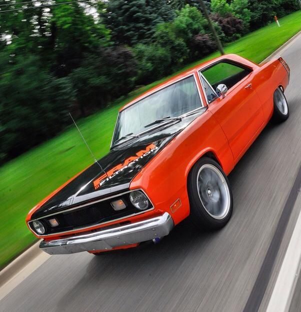 Valiant Dart Blend 1972 Ply Dodge Mix Scamp Pro Touring