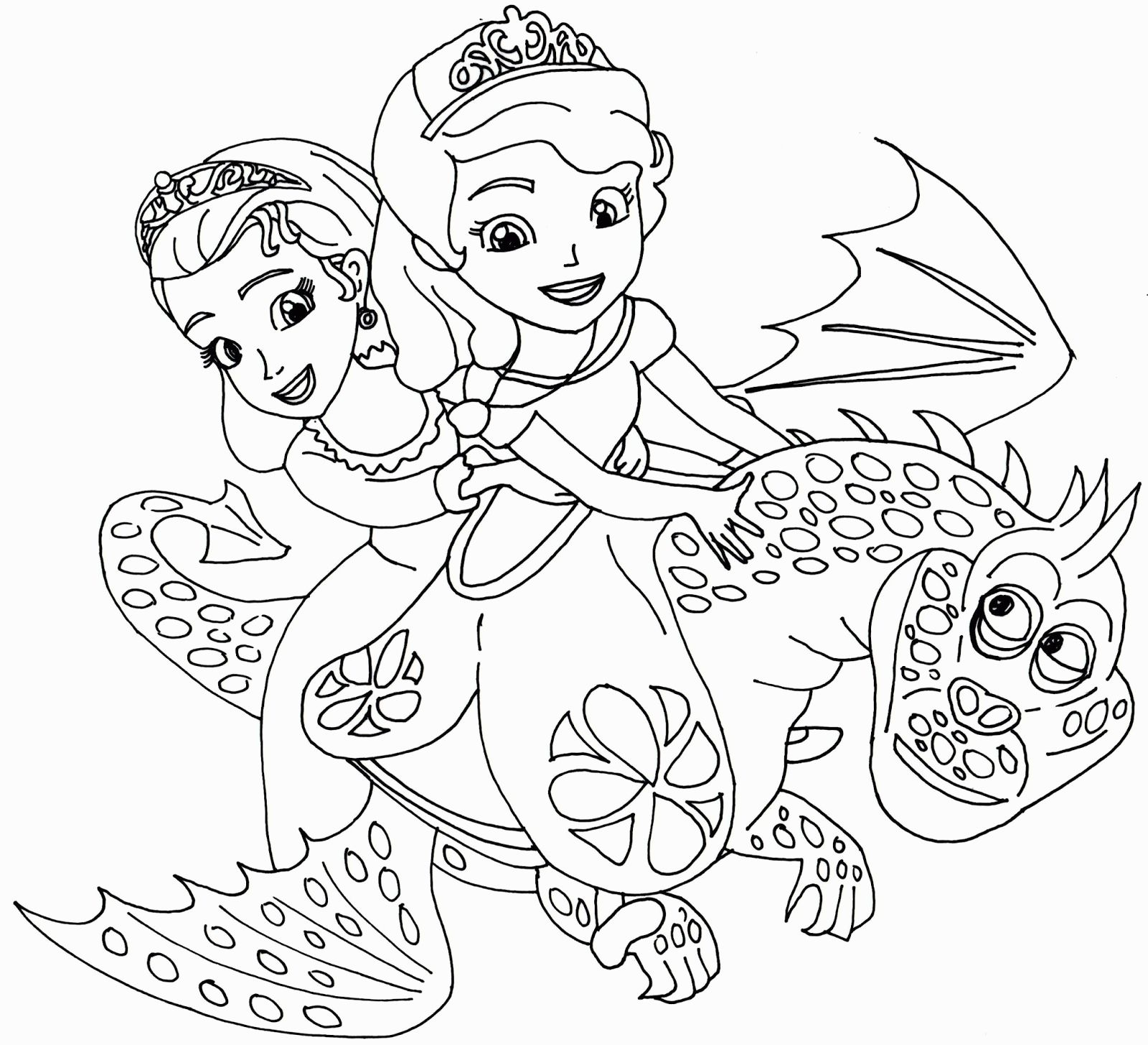 Amber Sofia The First Coloring Pages Printable Princess Coloring Pages Mermaid Coloring Pages Disney Coloring Pages