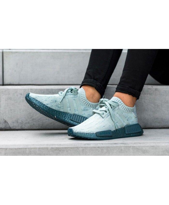 Adidas NMD R1 Sea Crystal Tactile Green Shoes | Adidas nmd
