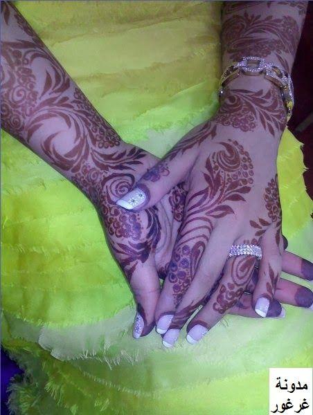 نقش حناء ناعم نقش حناء اماراتي وخليجي جميل روعة بسيط جيزاني Unique Henna Mehndi Designs Henna Designs
