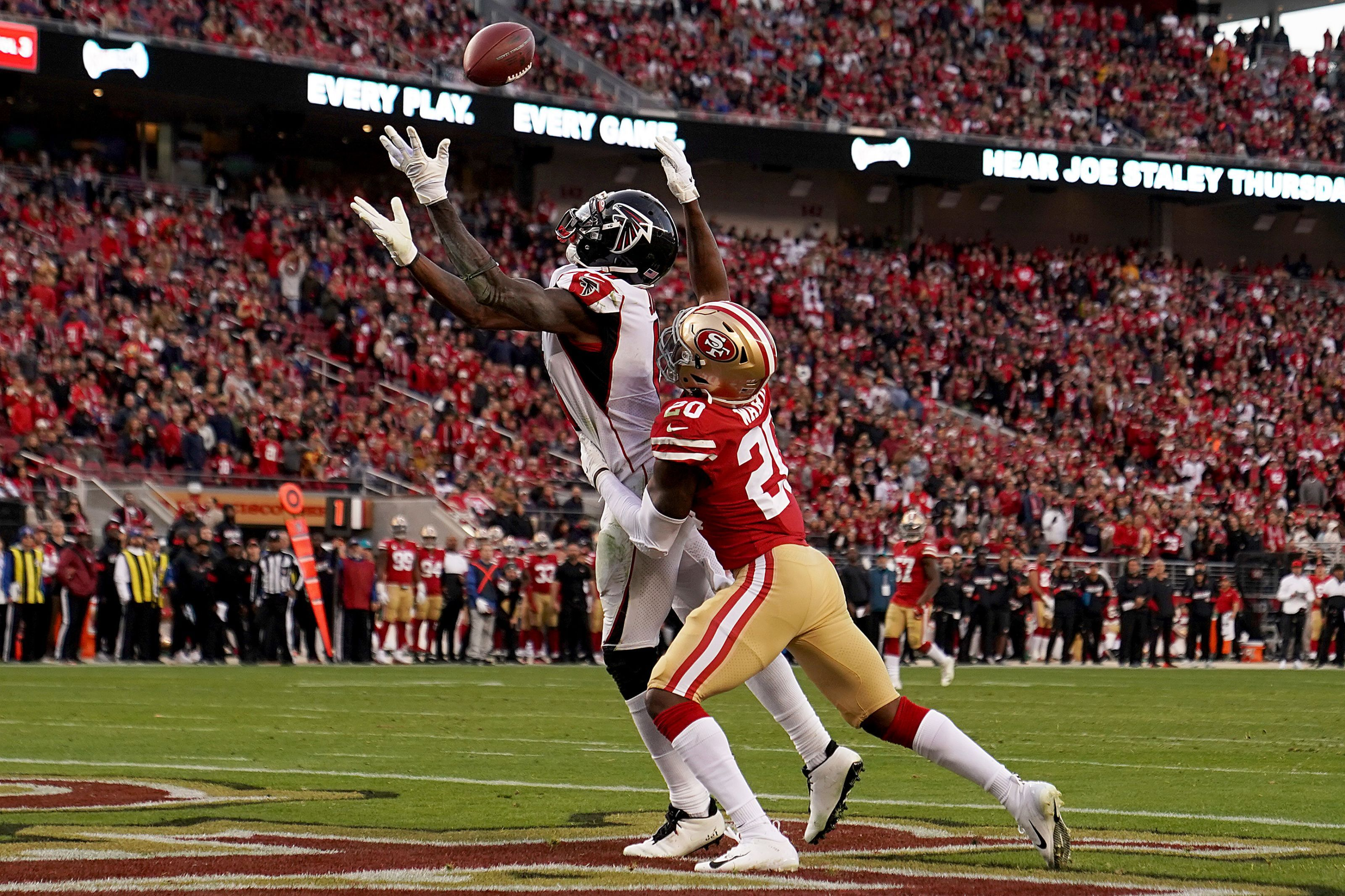 49ers Fall Into Trap Game In Week 15 Lose To Falcons At Last Second National Football League News The 49er Nfl News Football League National Football League