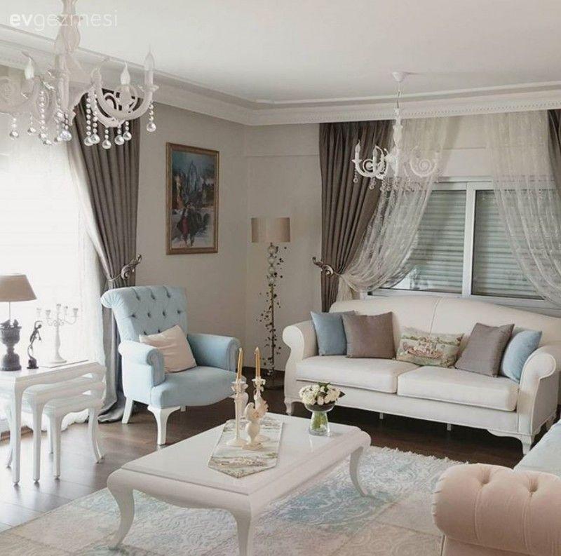 Industrial Home Design Endüstriyel Ev Tasarımları: Pastel Kahverengi, Mavi Ve Beyazla Zerafetin şıklıkla