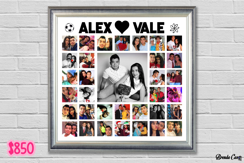 Sorprende a tu pareja con un hermoso marco collage como este con las ...