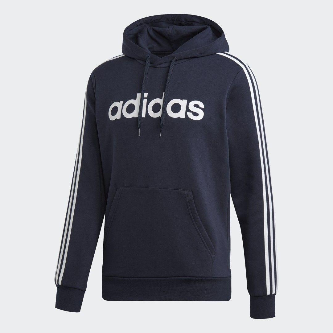 Adidas Essentials 3 Stripes Pullover Hoodie Blue Adidas Us Hoodies Pullover Hoodie Adidas Sweatshirt [ 1080 x 1080 Pixel ]