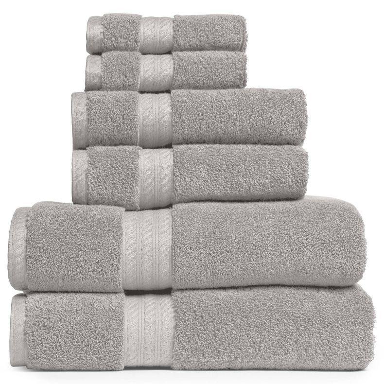 Jcpenney Royal Velvet Egyptian Cotton Solid 6 Pc Bath Towel