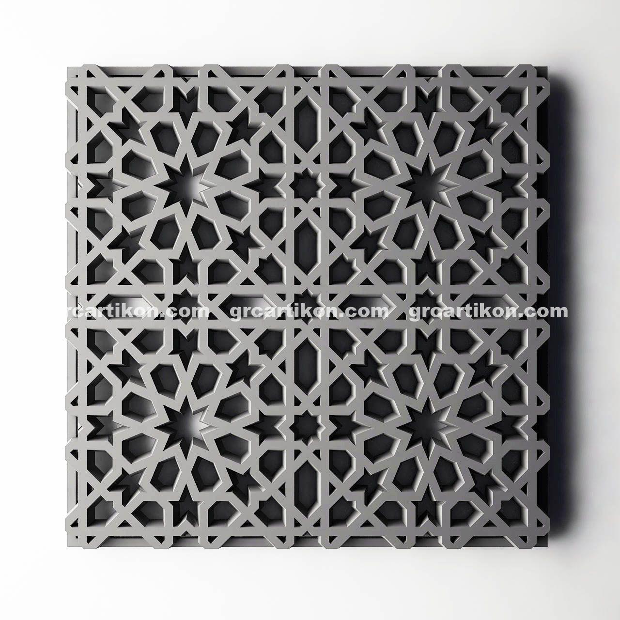 Pin von GRC artiKON auf Motif GRC Krawangan (intricated decorative ...