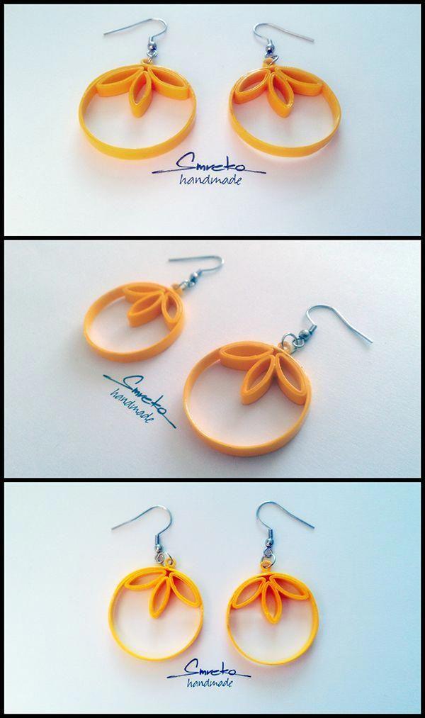Quilling jewelry design