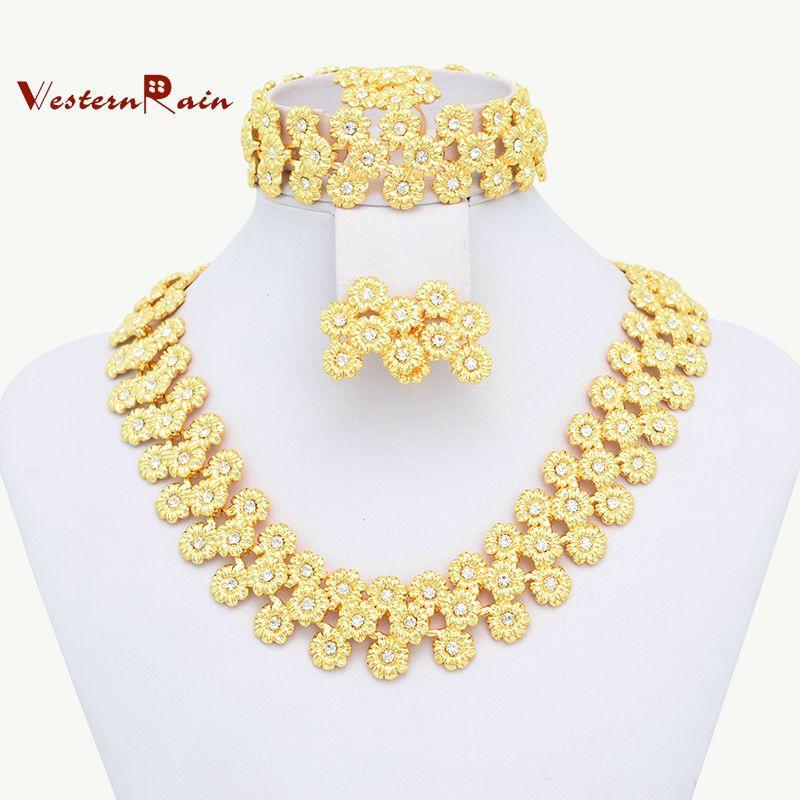 18k Gold Plated Chunky Fashion Jewelry