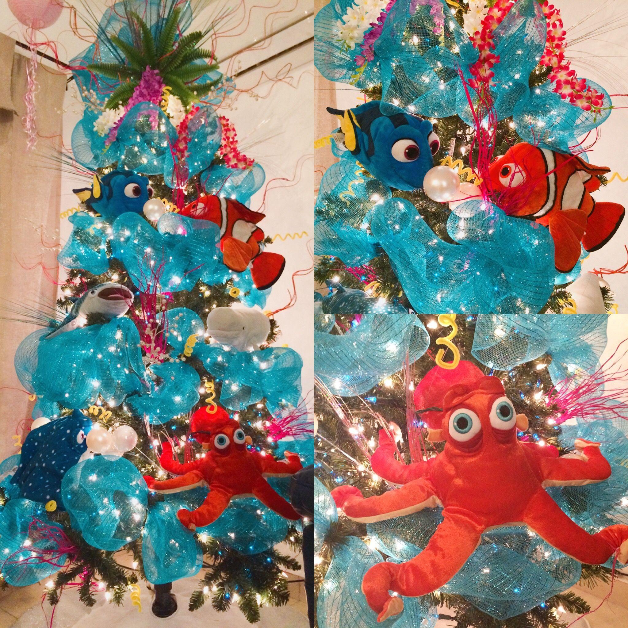 buscando a dorynemo pino de navidad finding dorynemo christmas tree disney christmas - Finding Nemo Christmas Decorations
