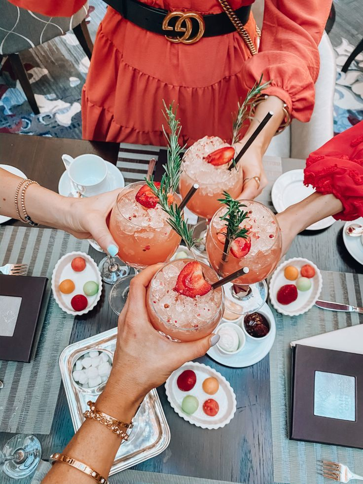 """Gal-entines at The Palace Hotel San Francisco   The Girl in the Yellow Dress   This year me and some friends celebrated at the beautiful Palace Hotel San Francisco.  This hotel is the most gorgeous, luxurious place ever!  We had such a great time and absolutely loved doing their Signature Tea time experience!  A """"must-do"""" thing for sure if you're in the San Fran area!  #teatime #vday #galentines #valentinesday"""