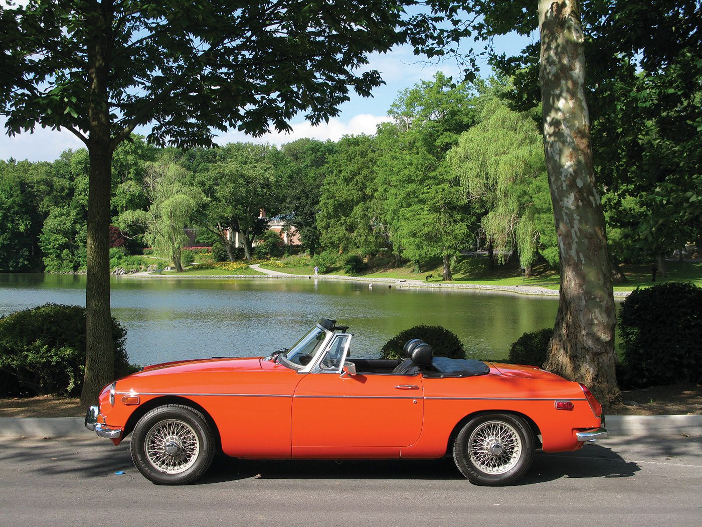 Mgb The Cl Ic Years Moss Motoring