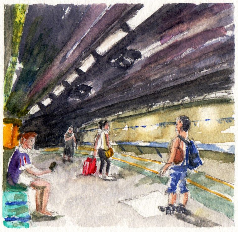 Underground People By Charlie O Shields Doodlewash Lyon