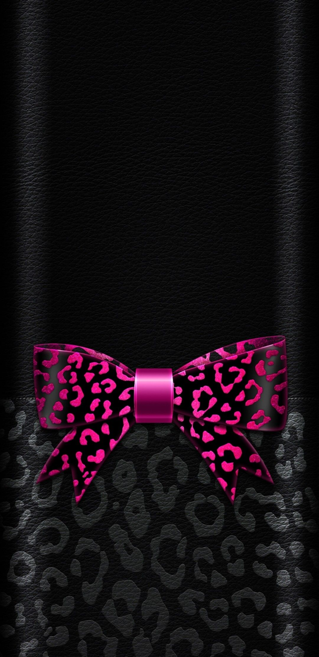 Black And Pink Bow Wallpaper Cute Girly Bow Wallpaper Iphone