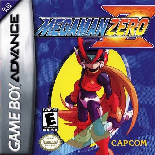 Mega Man Zero Megaman Zero Gba Nintendo Game Boy Advance Mega Man