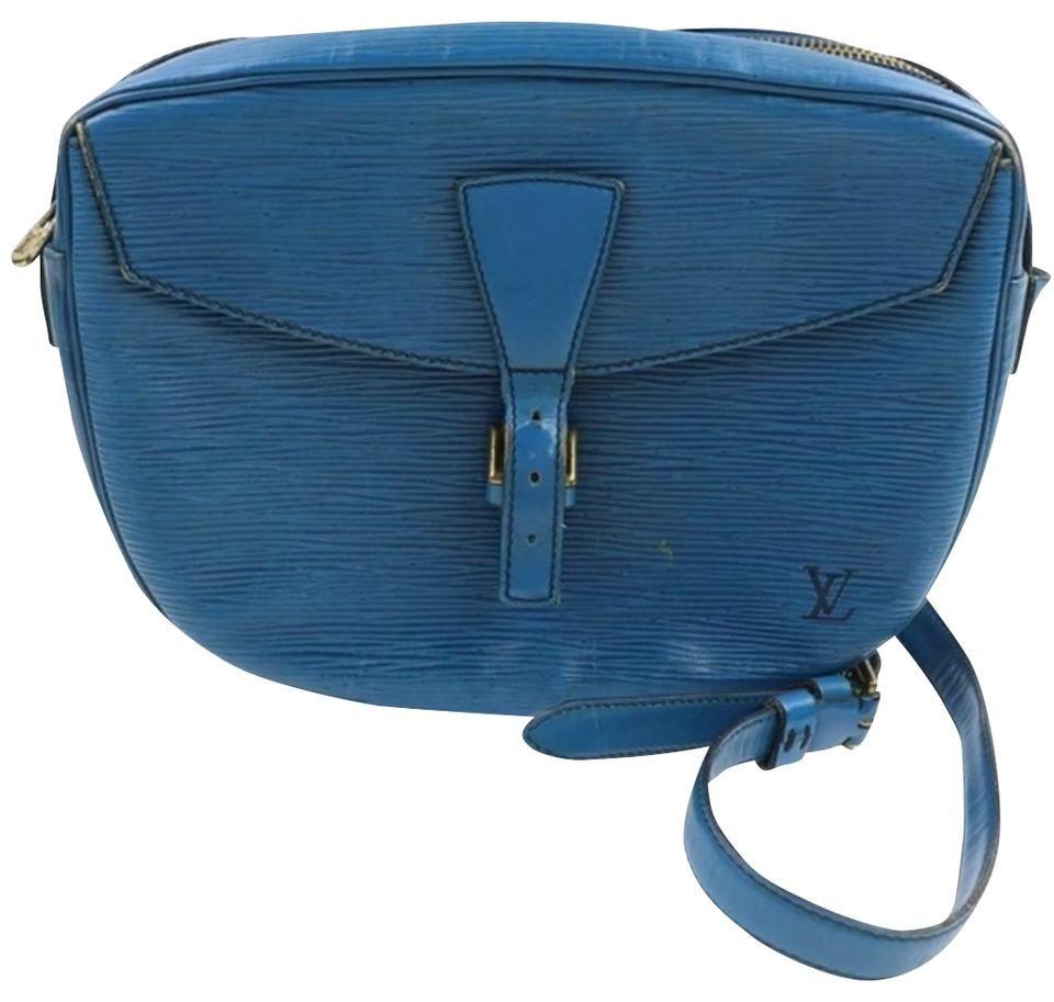 Louis Vuitton | Jeune Fille Shoulder Blue Epi Coat