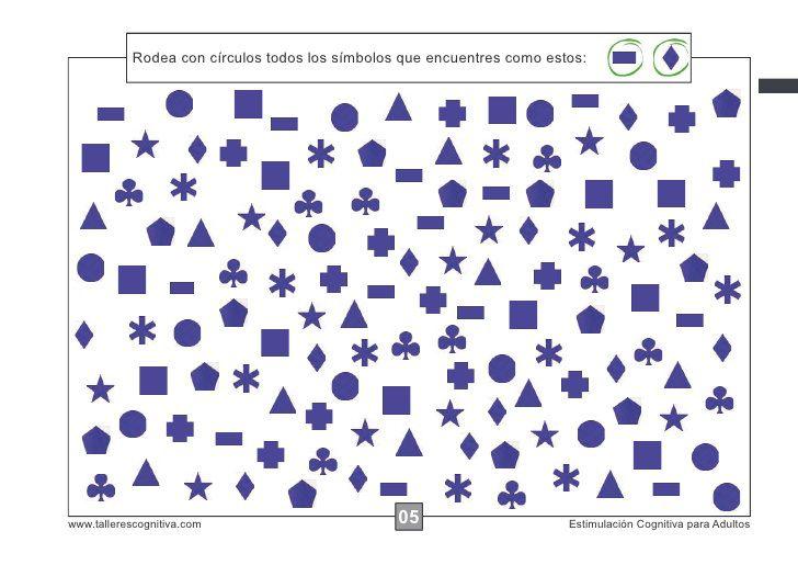 60 FICHAS DE ESTIMULACIÓN COGNITIVA PARA ADULTOS | Fejlesztés ...
