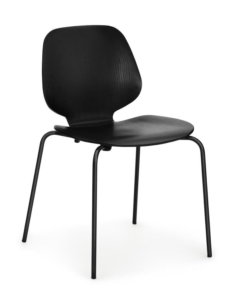 Designer Esszimmerstühle Normann Copenhagen My Chair Black Black Products In