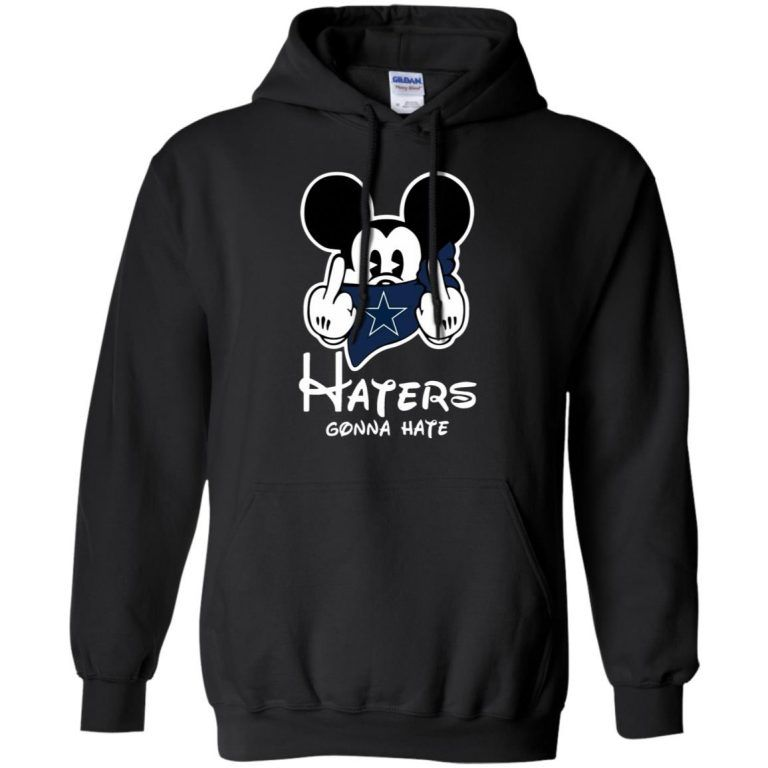 48b80e173ec NFL – Dallas Cowboys Mickey Mouse Haters Gonna Hate Football Hoodie
