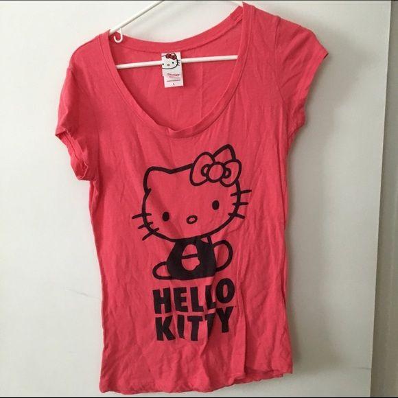 Hello Kitty Hello Kitty t shirt. Junior size large Sanrio Tops Tees - Short Sleeve