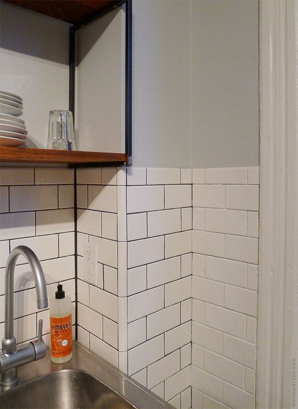 It\'s been nearly nine months since my last kitchen tiling madness ...