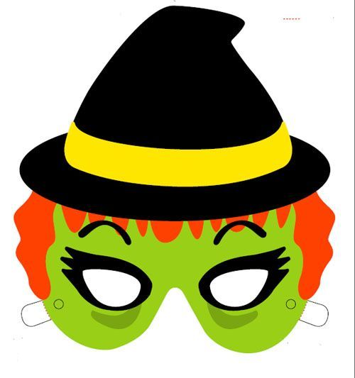 Mascaras De Halloween Para Imprimir Caretas Halloween Mascaras