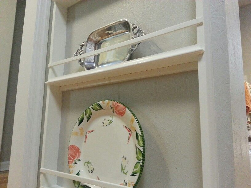 DIY Wall Plate Rack DIY Plate Display Rack Shelf Detail The Rack Interesting Diy Plate Display Stand