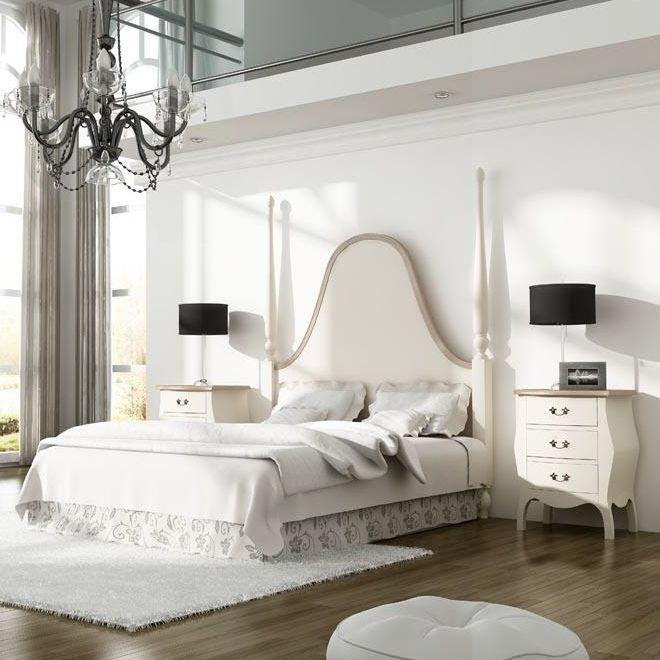 Dormitorio provenzal de matrimonio saboya dormitorios for Muebles en madrid capital