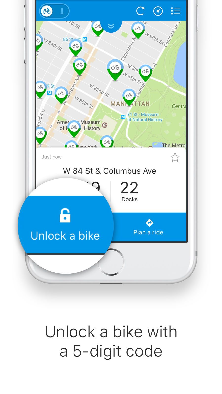 Citi Bike Ios Apps App Navigation Bike Html Design Templates App