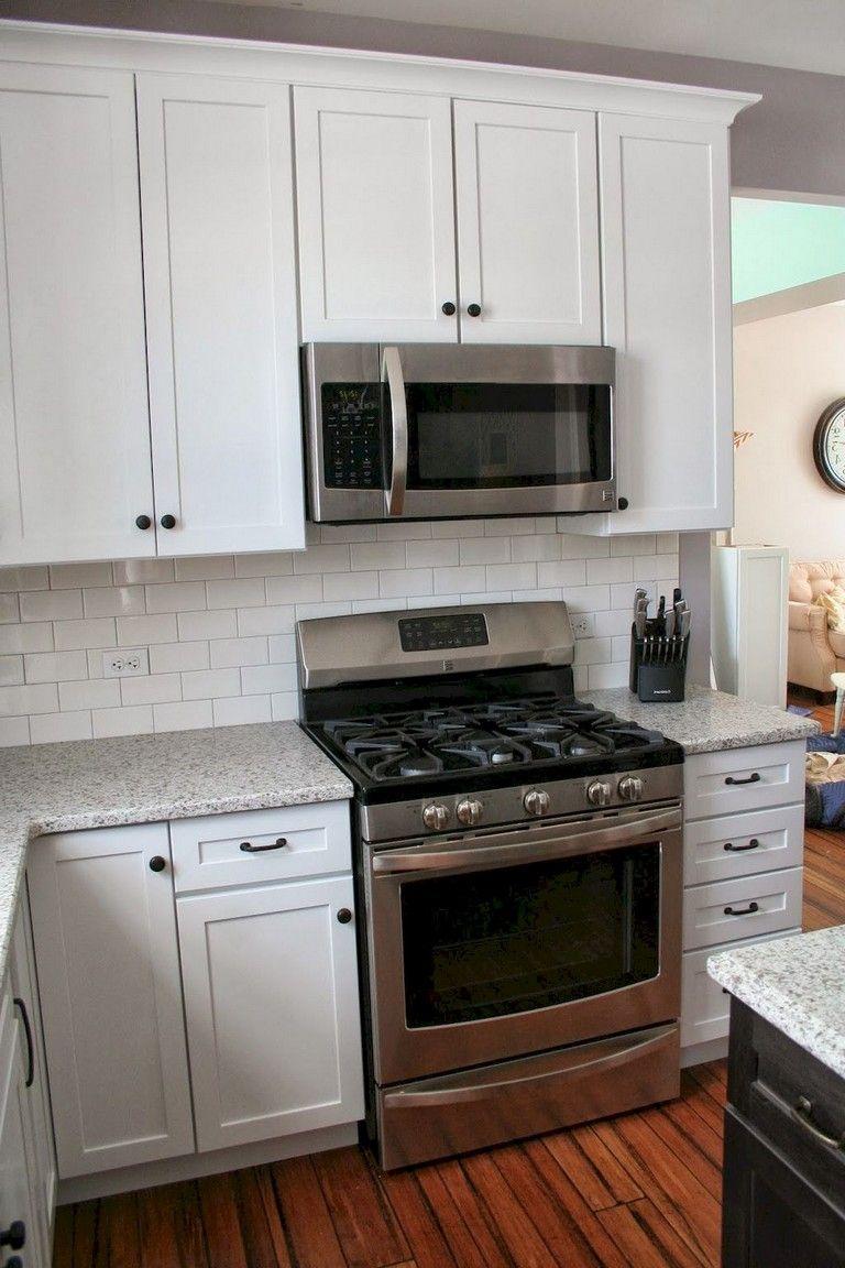 19+ Amazing White Shaker Cabinets Kitchen Ideas #whiteshakercabinets