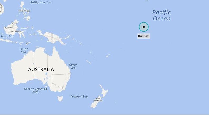Where is Kiribati   Kiribati island, Pacific ocean, Island
