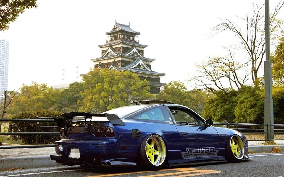 Nissan Silvia S13 Nissan 180sx Nissan Nissan Cars