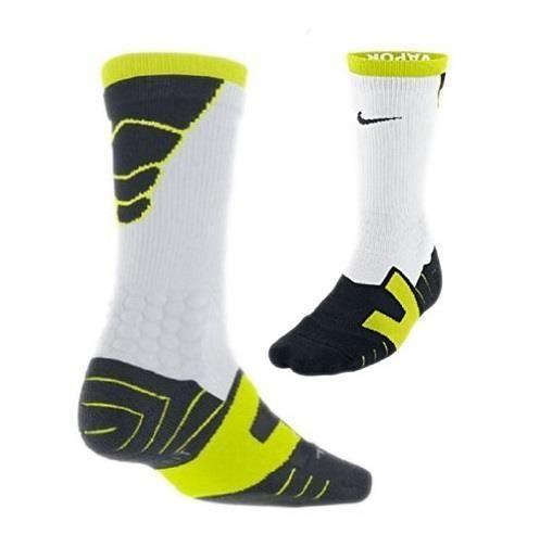 Nike Mens 8 12 Women 10 13 Vapor Crew Soccer Football White Socks Sx4598 103 Recovery Socks Football Socks Nike Men