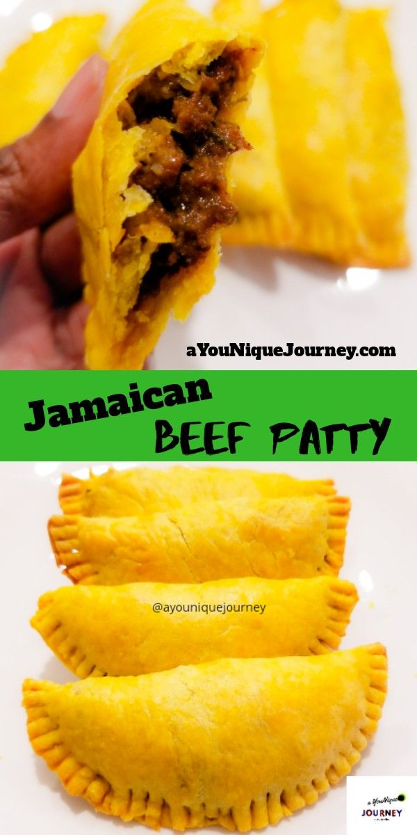 jamaican beef patty recipe  a younique journey  recipe