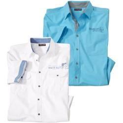 Photo of 2er-Pack kurzärmelige Sommerhemden Atlas For Men ® Atlas For Men