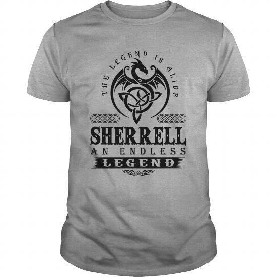 Awesome Tee  SHERRELL AN ENDLESS LEGEND T-SHIRT T shirts