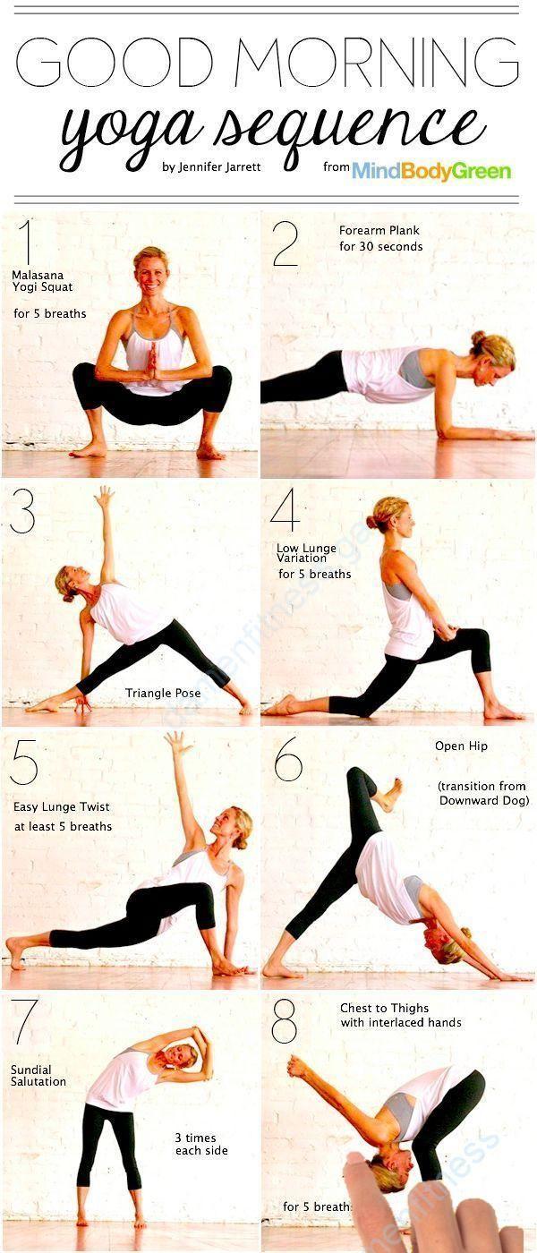 Guten Morgen Yoga Sequenz Good Morning Yoga Sequence Guten