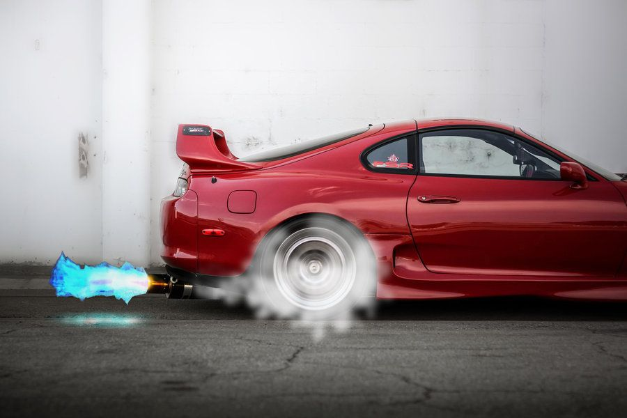 Delicieux Blue Fire Back Fire Supra