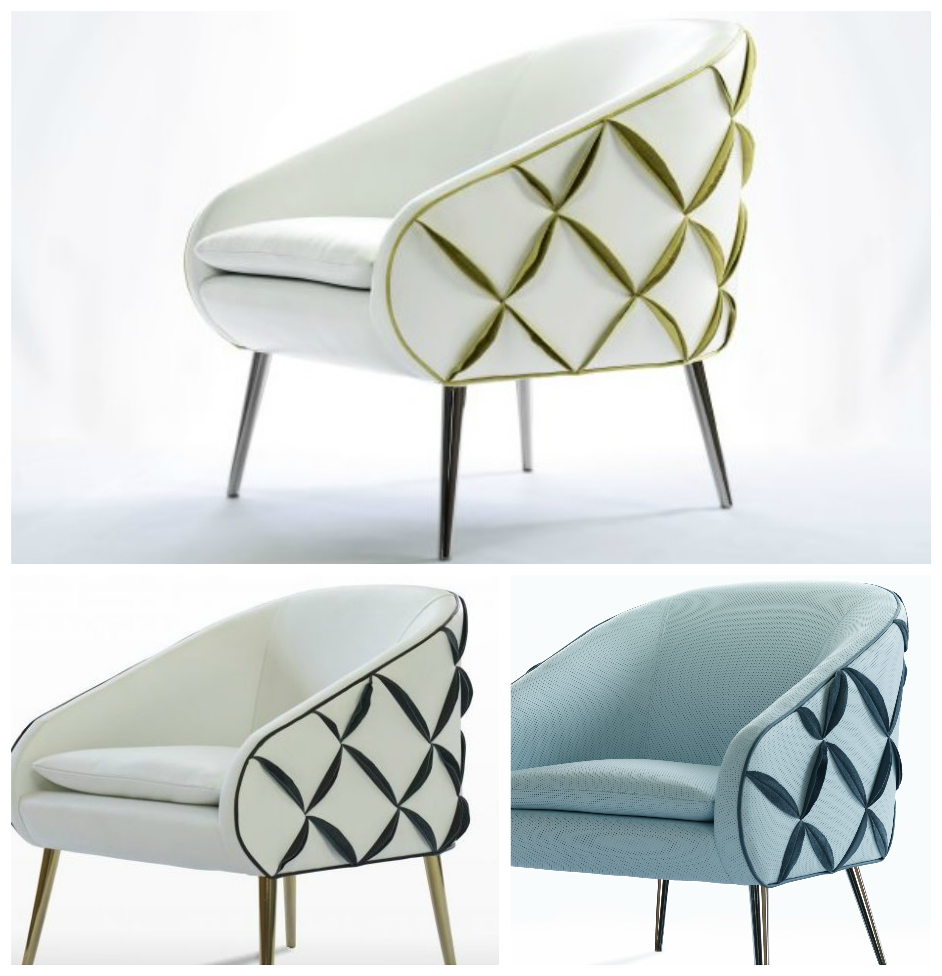 Distinctive design is all about personal choices. Check out our award winning Dali chair. Which color combo best suits you? #NAfurniture #interiordesign